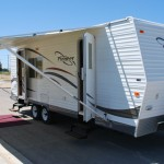 26' Fleetwood Pioneer Kuna Idaho Travel Trailer Rental Exterior 1