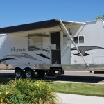29' Skyline Nomad Nampa Idaho Travel Trailer Rental Exterior 1