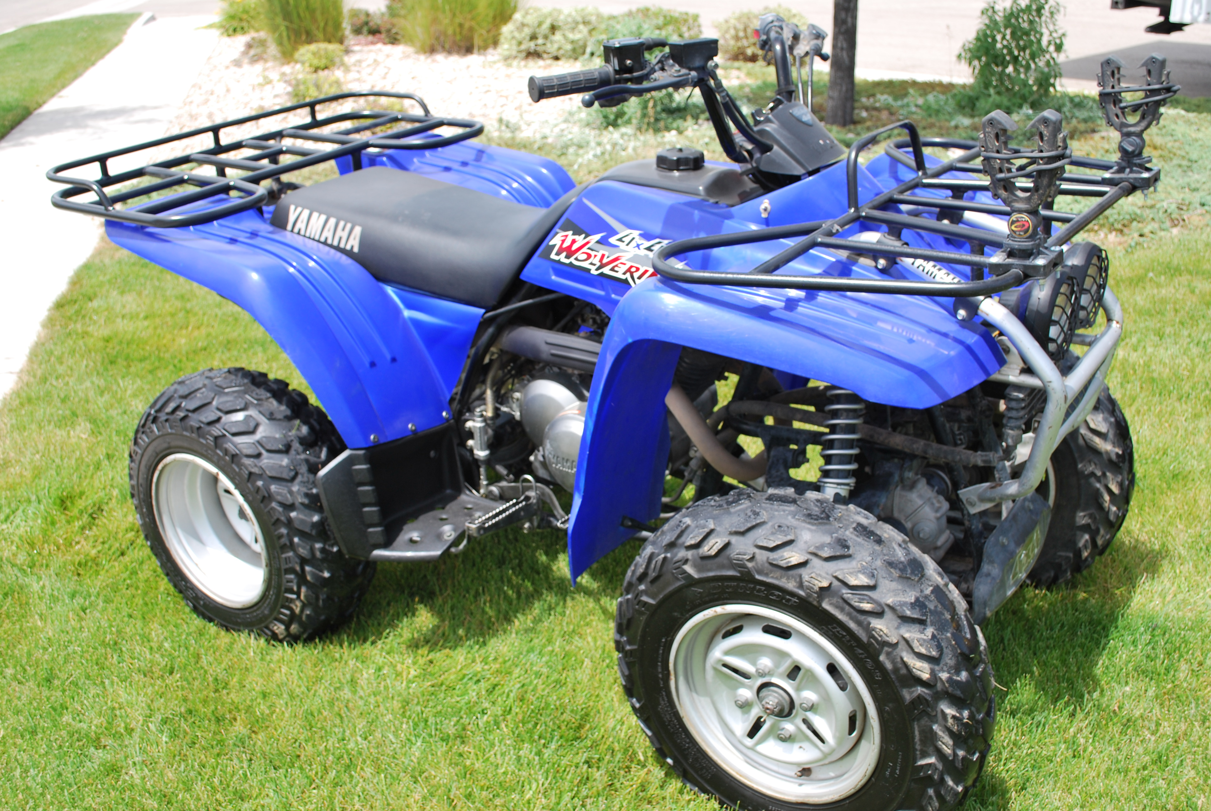 Yamaha wolverine 350 4x4 atv rental boise idaho for What year is my yamaha atv