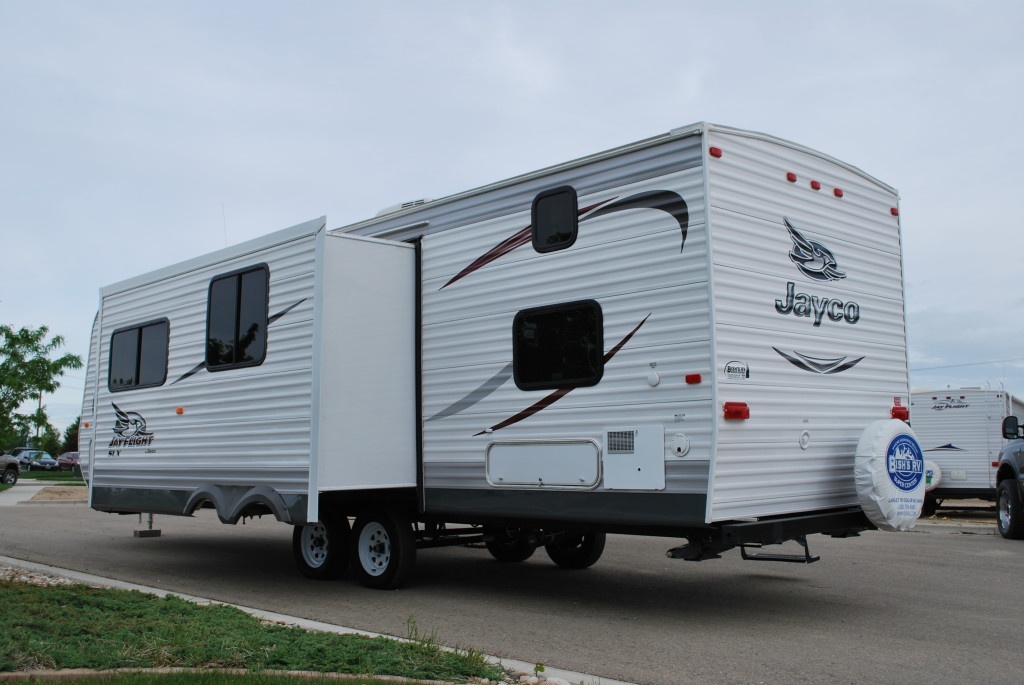 Jayco-Jayflight-287BHSW-Bunk-House-Travel-Trailer-Rental-Ext-03