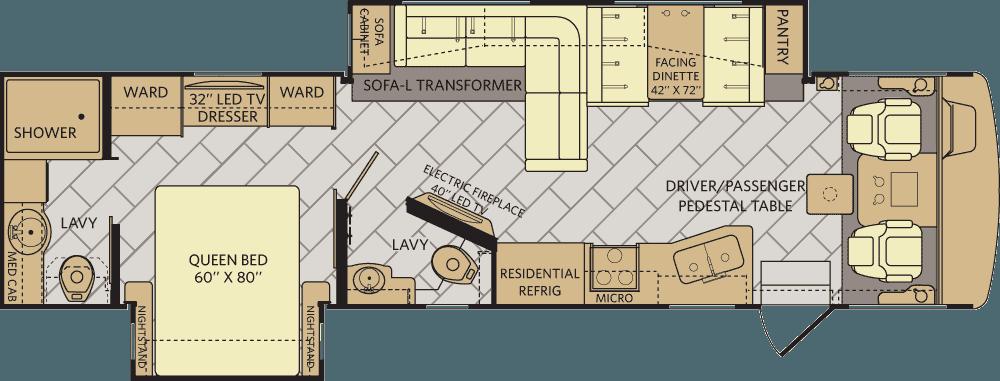 2017-Fleetwood-Bounder-35K-Floorplan