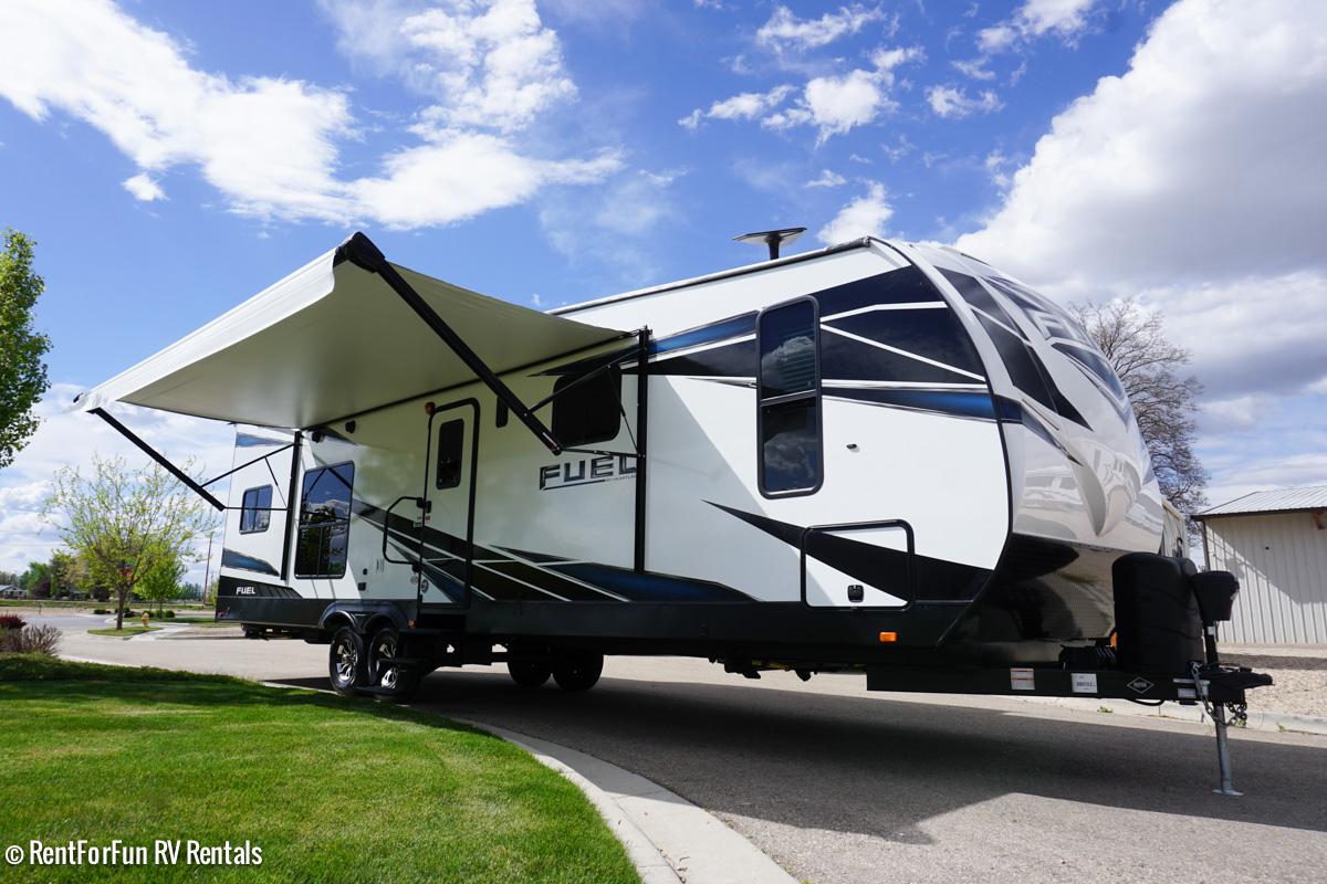 36′ Heartland Fuel Luxury 287 Travel Trailer Rental