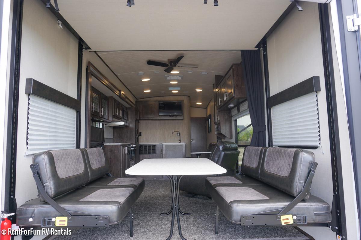 36 Heartland Fuel Luxury 287 Travel Trailer Rental