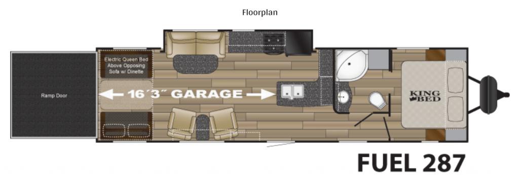 36-Heartland-Fuel-287-Toy-Hauler-Rental-Floor-Plan